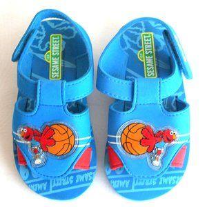Sesame Street Elmo Sandals Boys Toddler Size 9-10